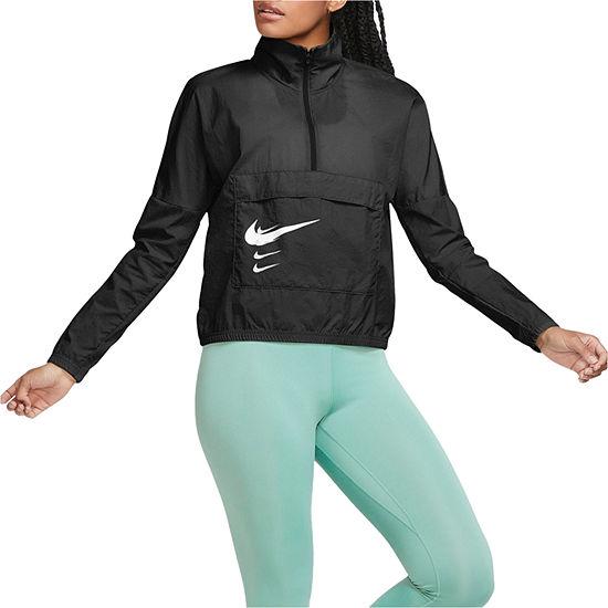 Nike Womens Mock Neck Long Sleeve Hoodie