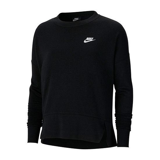 Nike Womens Crew Neck Long Sleeve Sweatshirt