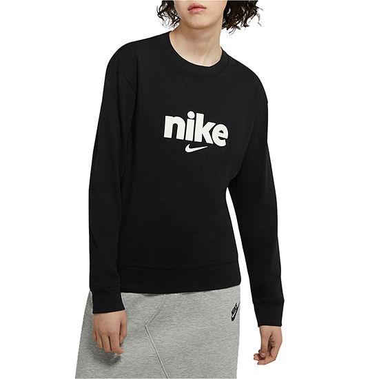 Nike Womens Crew Neck Long Sleeve T-Shirt