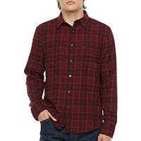 Arizona Mens Long Sleeve Flannel Shirt Deals