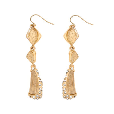 Bijoux Bar Bijoux Bar White Drop Earrings