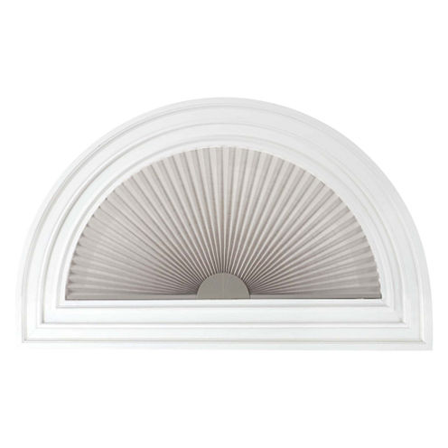 "JCPenney Home™ 1"" Arch Pleated Linen Shade - FREE SWATCH"