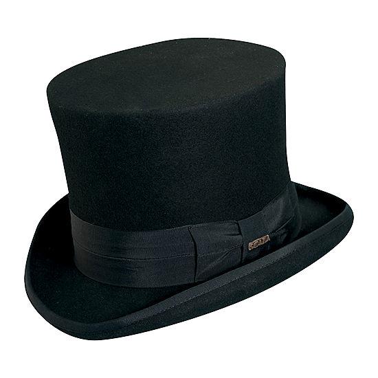 Scala Classico Wool Felt Top Hat JCPenney 1e9ea011695
