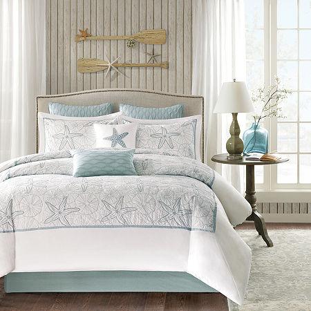 Harbor House Maya Bay 4-pc. Comforter Set, One Size , White - 72647560018