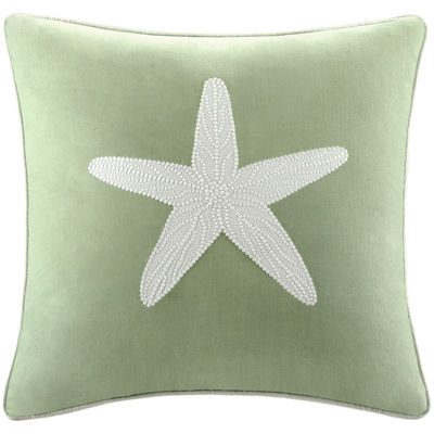 "Harbor House Brisbane Starfish 18"" Square Decorative Pillow"