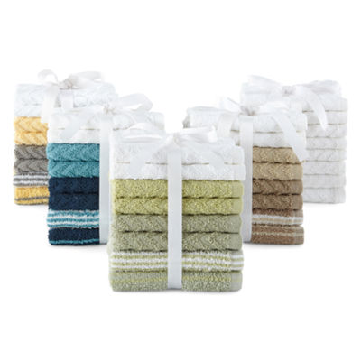 Home Expression 8-pk. Washcloth Set