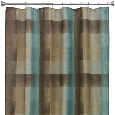Bacova Fresh Flannel Shower Curtain