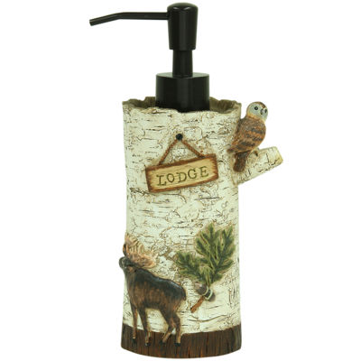 Bacova Lodge Memories Soap Dispenser