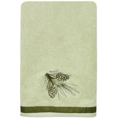 Bacova Pinecone Silhouette Bath Towel