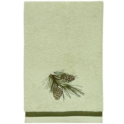 Bacova Pinecone Silhouette Hand Towel