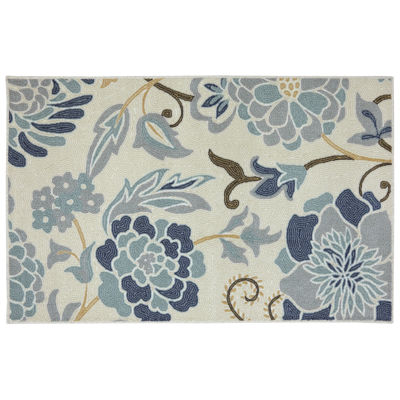 Mohawk Home® Power Flower Rectangular Rug