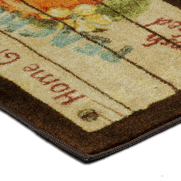 Mohawk Home® Peach Crate Rectangular Rug