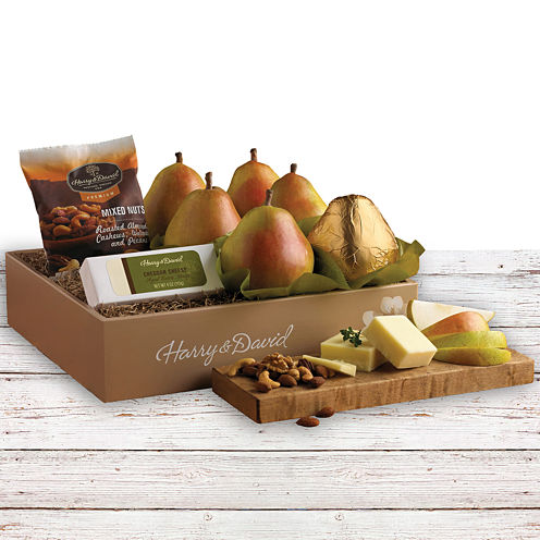 Harry & David® Merry Fruit, Cheese and Nut Mix Gift Box