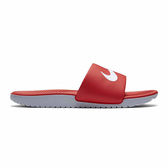huge selection of d1b75 14d21 Nike® Kawa Slide Boys Sandals - Little/Big Kids