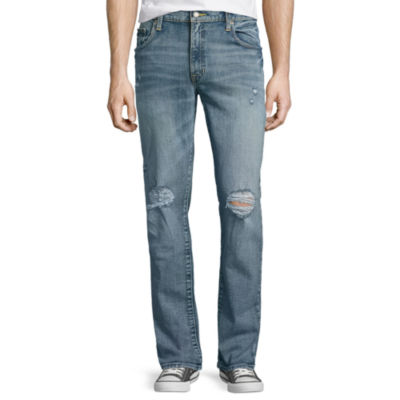 Arizona Slim Flex Destructed Jeans