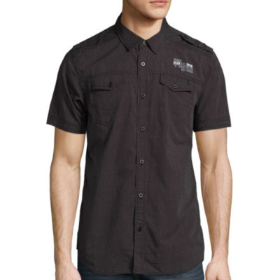 i jeans by Buffalo® Short-Sleeve Meyer Woven Shirt