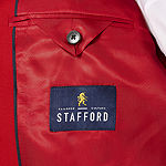Stafford® Hopsack Classic-Fit Sportcoat - Big & Tall
