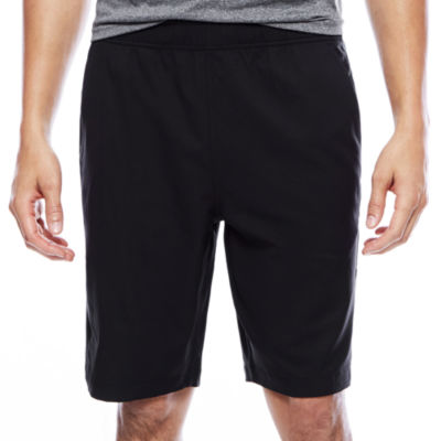 Msx By Michael Strahan Mens Elastic Waist Workout Shorts