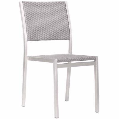 Zuo Modern Metropolitan 2-pack Patio Dining Chair