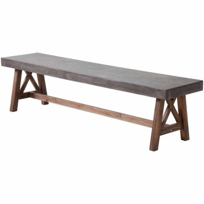 Zuo Modern Ford Patio Bench