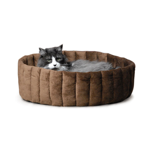 K & H Manufacturing Lazy Cup Cat Bed