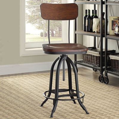 Mason Adjustable Bar Stool