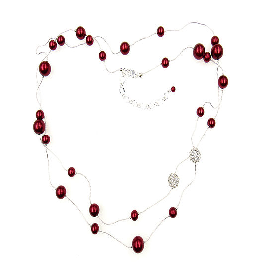 Vieste Rosa Red Illusion Necklace