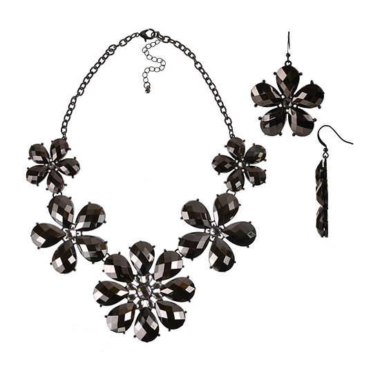 Mixit 3-pc. Flower Jewelry Set