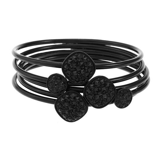 Liz Claiborne Square Bangle Bracelet