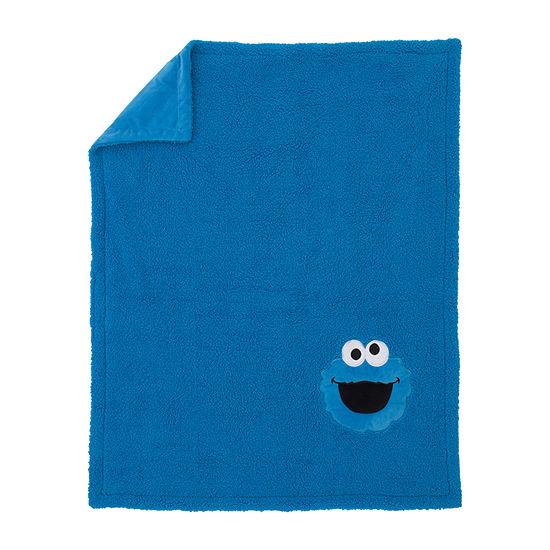 Nojo Cookie Monster Sesame Street Blanket - Boys