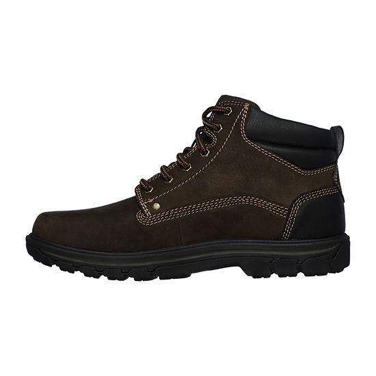 Skechers Mens Segment   Garnet Lace Up Boots