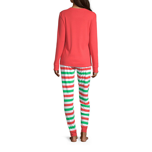 Dr. Seuss Grinch Family Women's 2 Piece Pajama Set