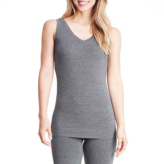 Cuddle Duds Softwear With Stretch Womens Top