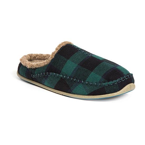 Deer Stags® Plaid Nordic Clog Slipper