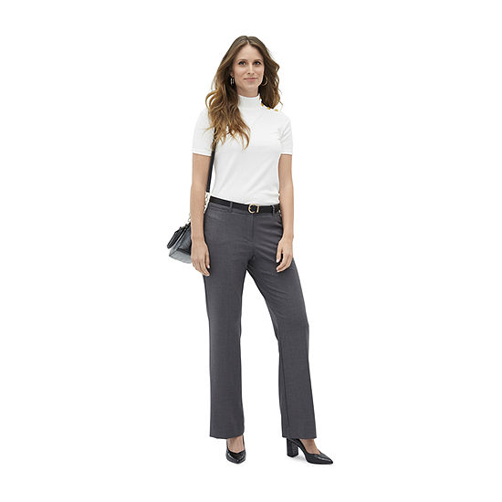 Dare to Pair: Worthington Perfect Trouser with Mock Neck Top