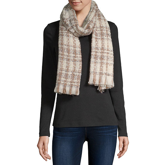 Mixit Tweed Oblong Scarf