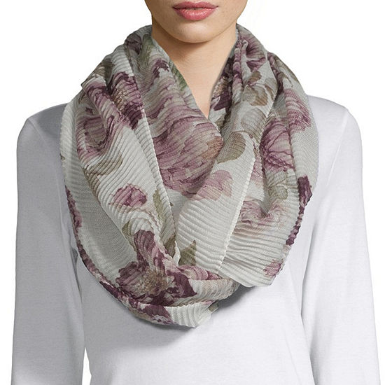 Mixit Floral Infinity Scarf