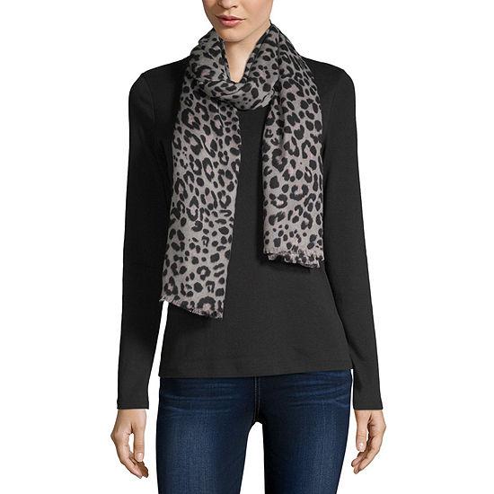 Liz Claiborne Leopard Pashmina-Style Scarf