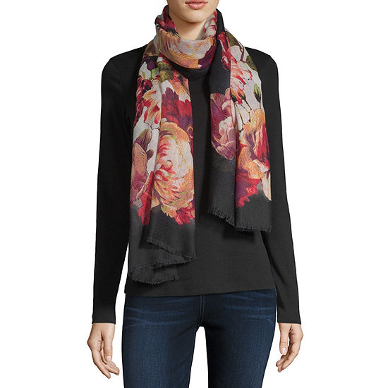 Mixit Floral Oblong Scarf