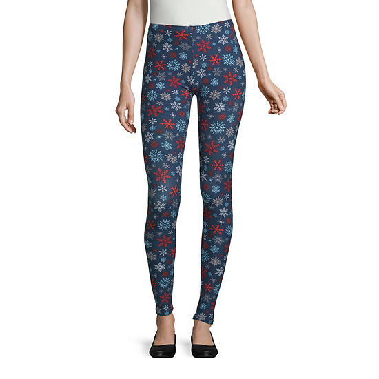 Mixit Womens Mid Rise Ankle Legging