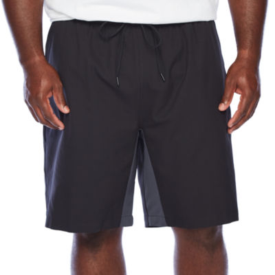Msx By Michael Strahan Mens Mid Rise Stretch Workout Shorts - Big and Tall