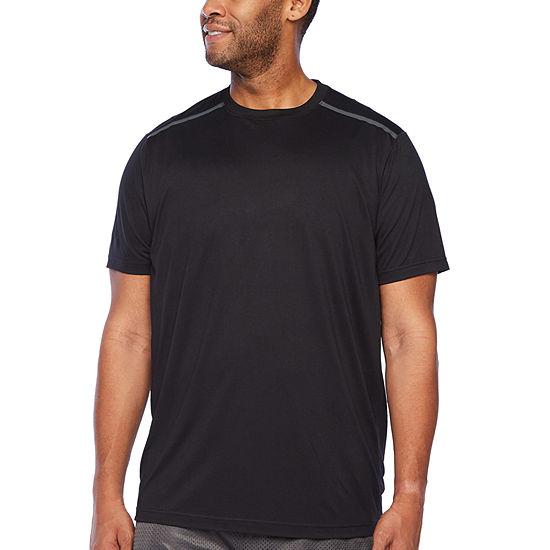 Msx By Michael Strahan-Big and Tall Mens Crew Neck Short Sleeve T-Shirt