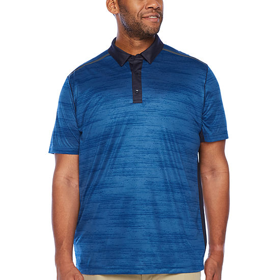 Msx By Michael Strahan Big and Tall Mens Short Sleeve Polo Shirt