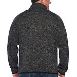 U.S. Polo Assn. Big and Tall Mens High Neck Long Sleeve Sweatshirt
