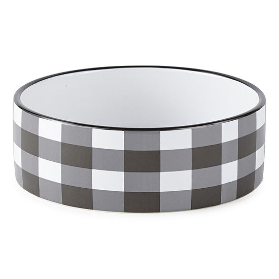 PAW & TAIL Gingham Dog Bowl