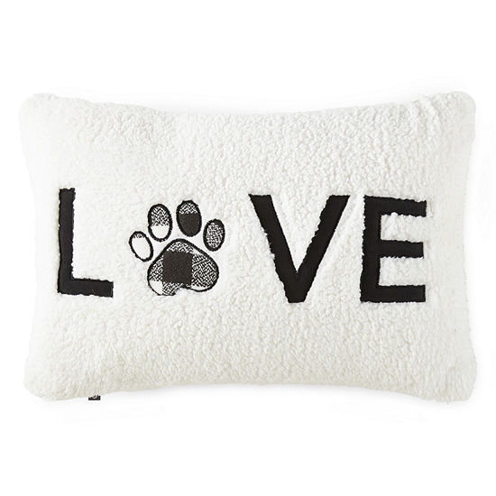 PAW & TAIL LOVE Paw Decorative Pillow