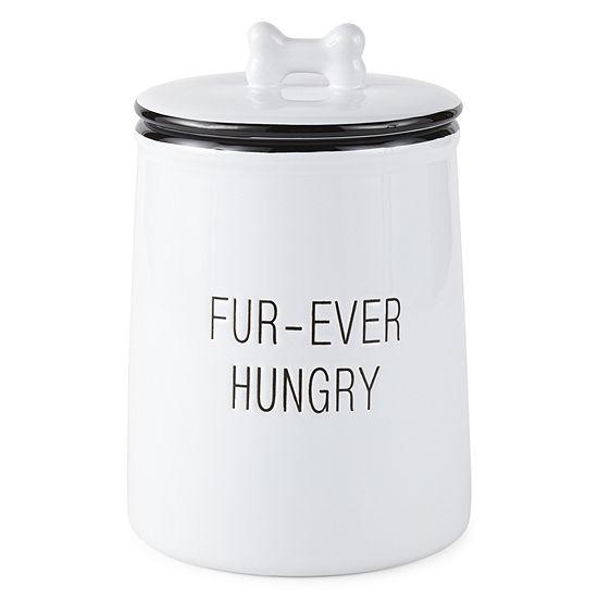 "PAW & TAIL ""FUR-EVER HUNGRY"" Treat Jar"