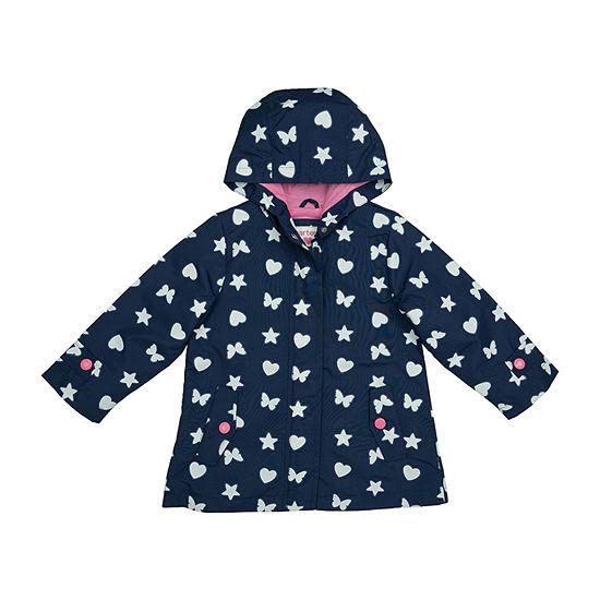 Carter's Baby Girls Hooded Lightweight Raincoat