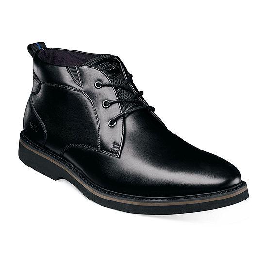 Nunn Bush Mens Denali Chukka Flat Heel Boots