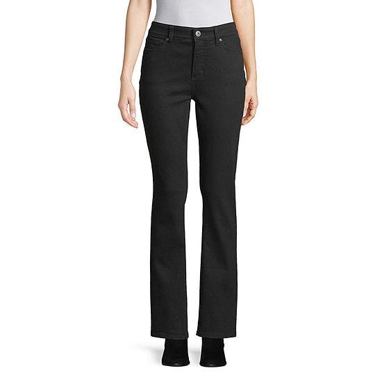 St. John's Bay Womens Mid Rise Regular Fit Bootcut Jean